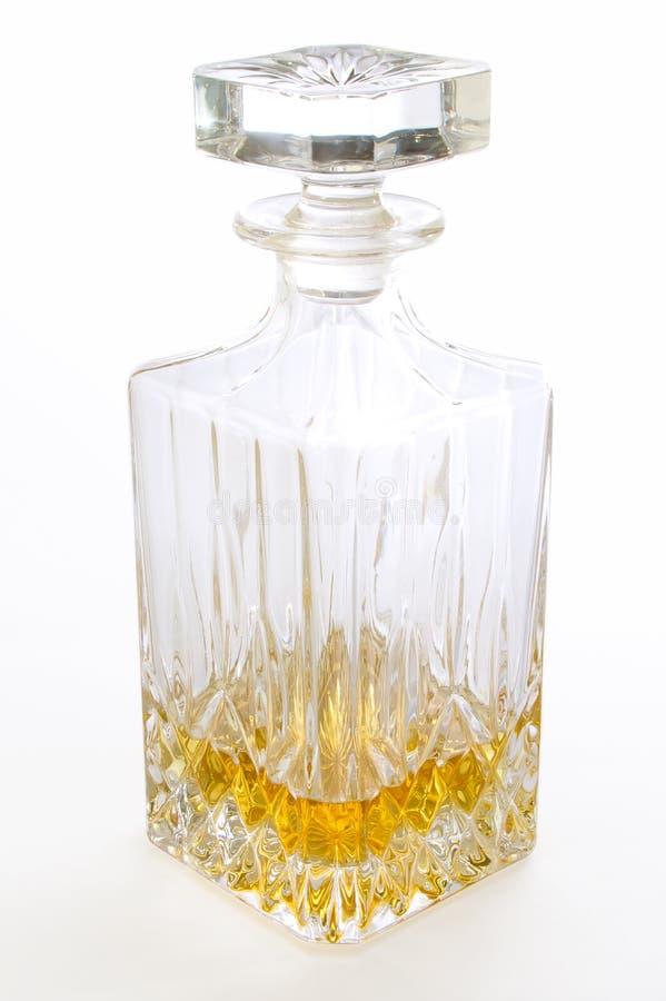 Bottiglia elegante del liquore fotografia stock