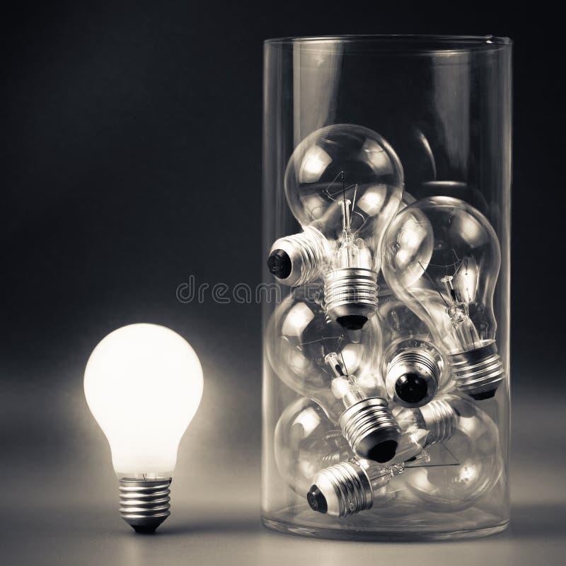 Bottiglia esterna fotografie stock libere da diritti