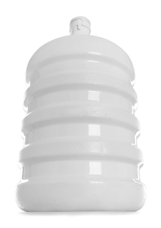 Bottiglia grande di imballaggio dell'acqua fotografia stock