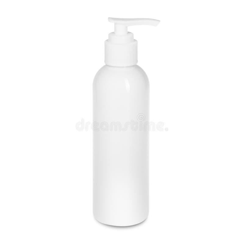 Bottiglia su backgroun bianco illustrazione vettoriale
