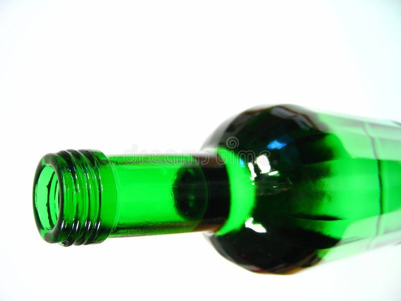 Bottiglia Verde I Immagini Stock Libere da Diritti