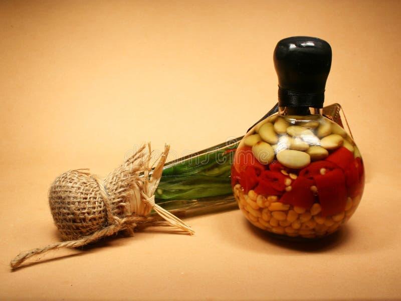 Bottiglie decorative immagini stock