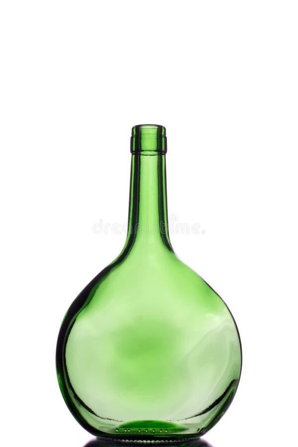 bottiglie verdi una fotografia stock