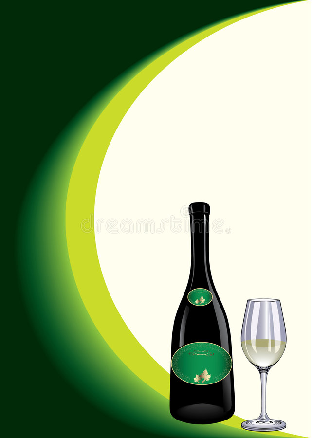 Free Bottle And Glass 3 Stock Images - 8580254