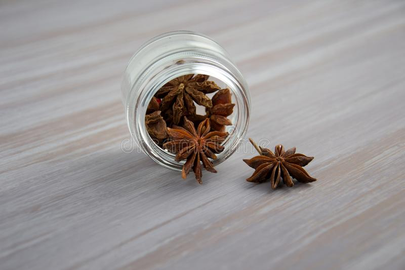 Bottle Of Anise stock images