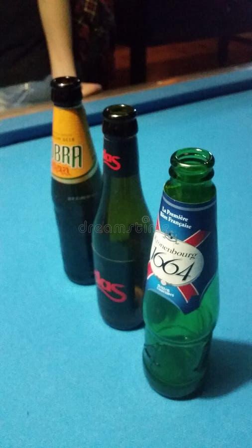 3 bottle royalty free stock photo