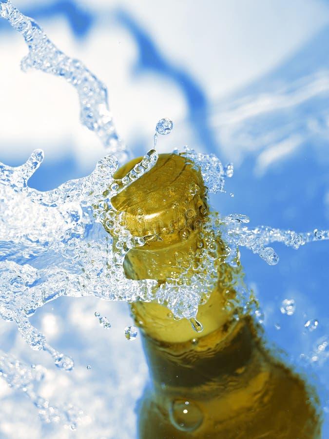 Bottle of beer stock photos