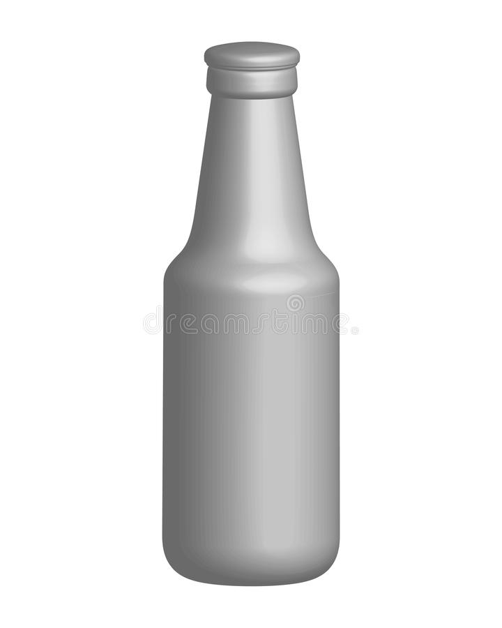Download Bottle of beer stock vector. Image of isolated, illustration - 9607720