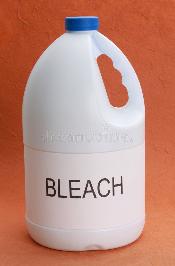 Download Bottle of bleach stock photo. Image of wash, bleach, clean - 7489576