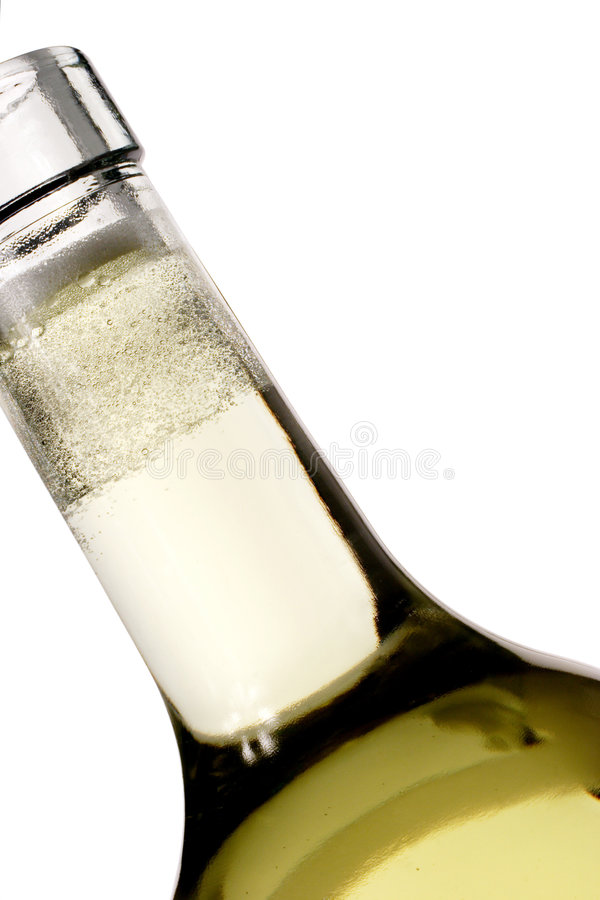Bottle and bubbles royalty free stock photos