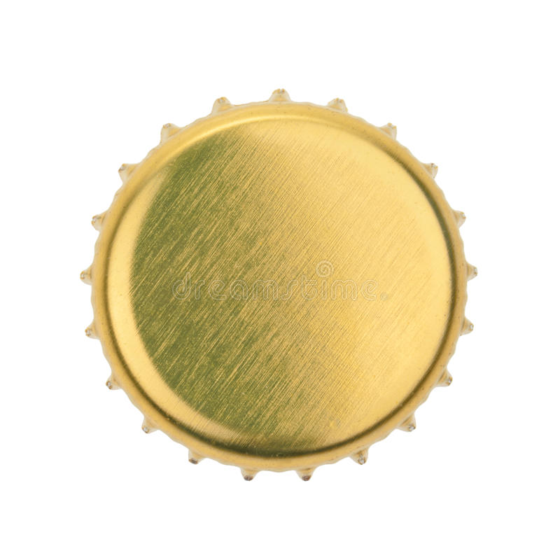 Bottle cap isolated on white background. without shadow.  stock images