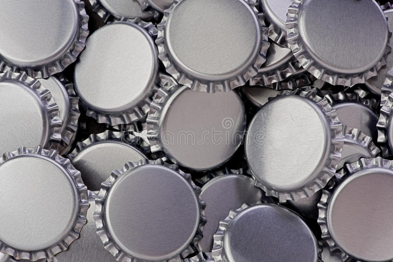 Bottle Caps stock photography