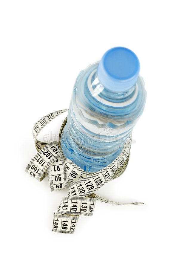 Download Bottle and centimeter stock image. Image of plastic, clean - 5003511