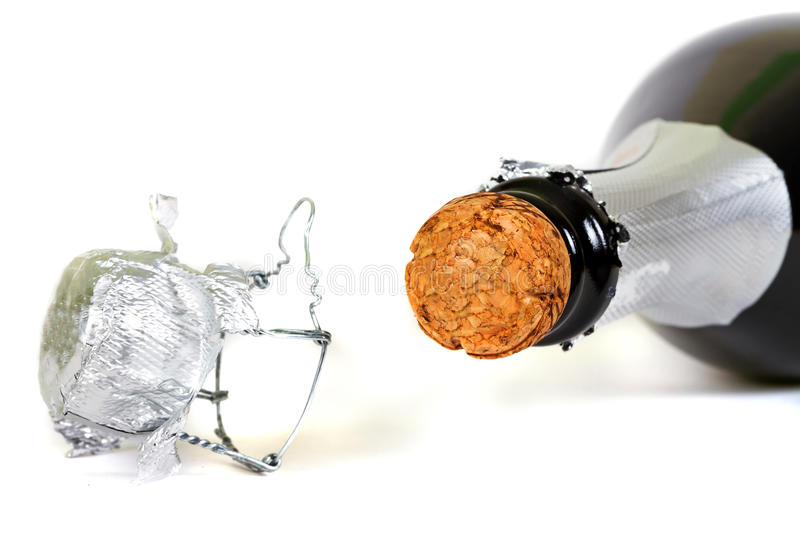 Download Bottle Of Champagne With Cork Stock Photo - Image: 22405700
