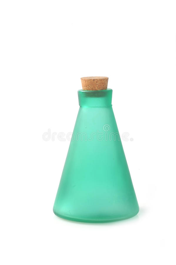 Bottle with cosmetic royalty free stock photography