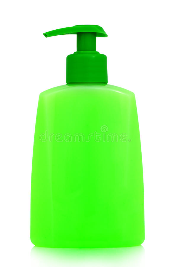 Bottle With Cosmetic Product Stock Photo