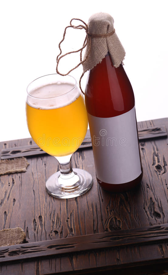Download Bottle of craft beer stock photo. Image of drink, alcohol - 43428978