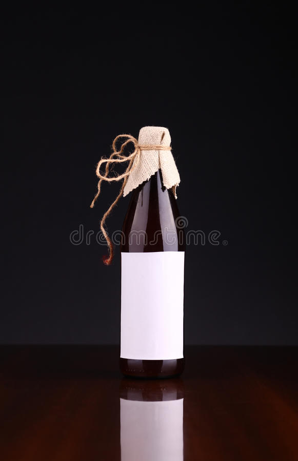 Download Bottle of craft beer stock photo. Image of dark, beer - 43428982