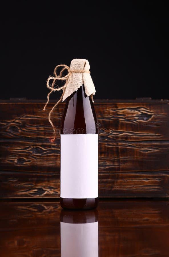 Bottle Of Craft Beer Stock Photo