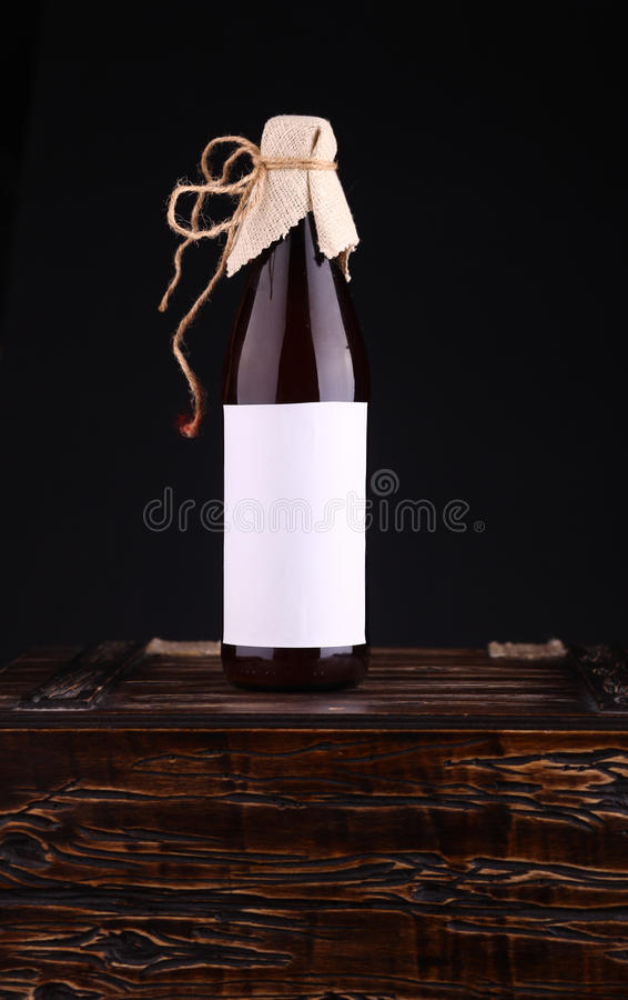 Download Bottle of craft beer stock image. Image of drink, white - 43428987