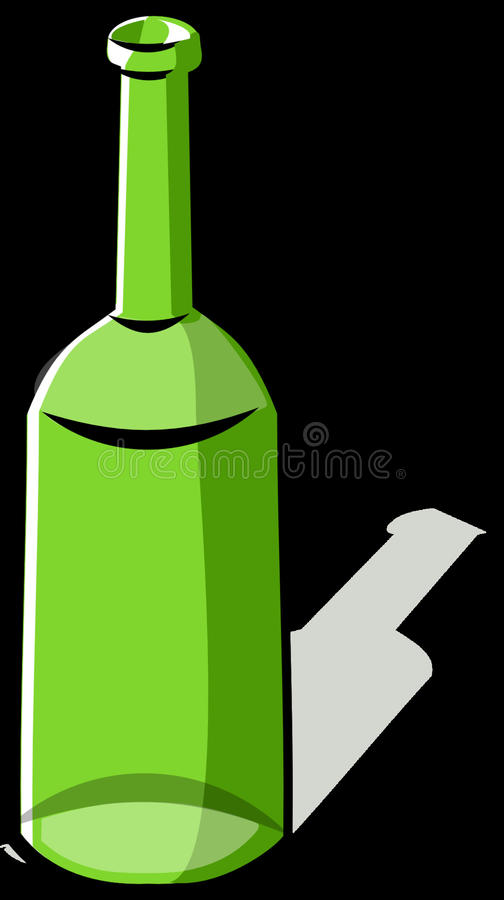 Bottle, Green, Glass Bottle, Wine Bottle royalty free stock photo