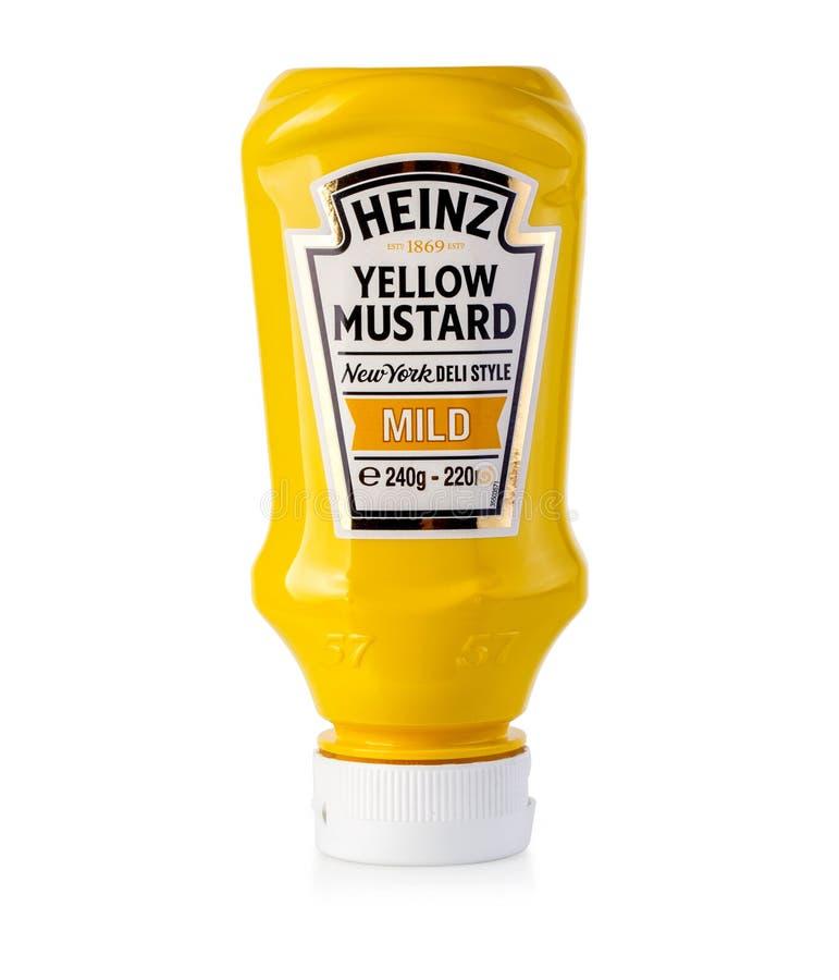 Bottle of Heinz royalty free stock image