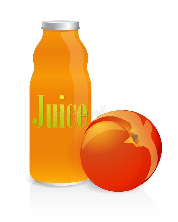 Bottle of juice royalty free stock image