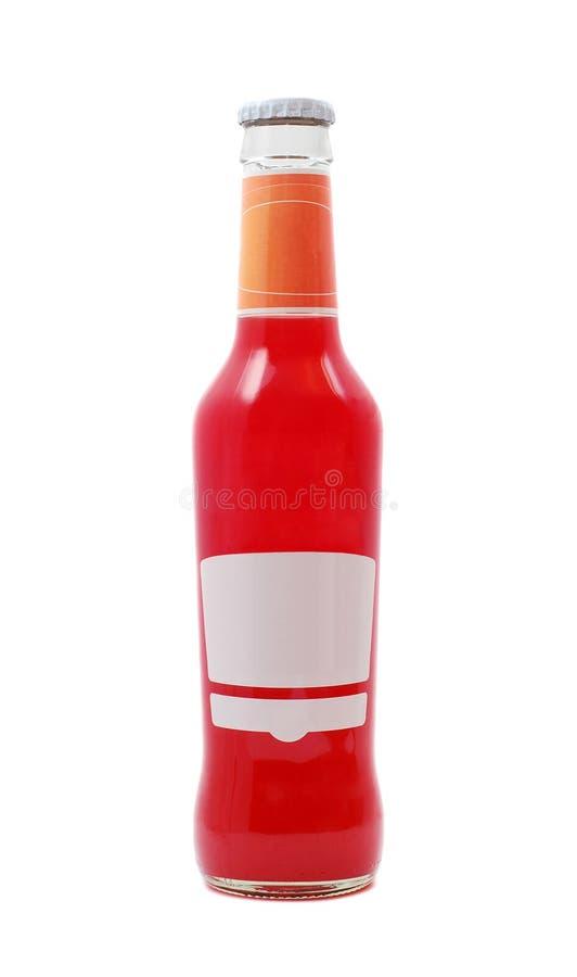 Juice Bottle Stock Photography