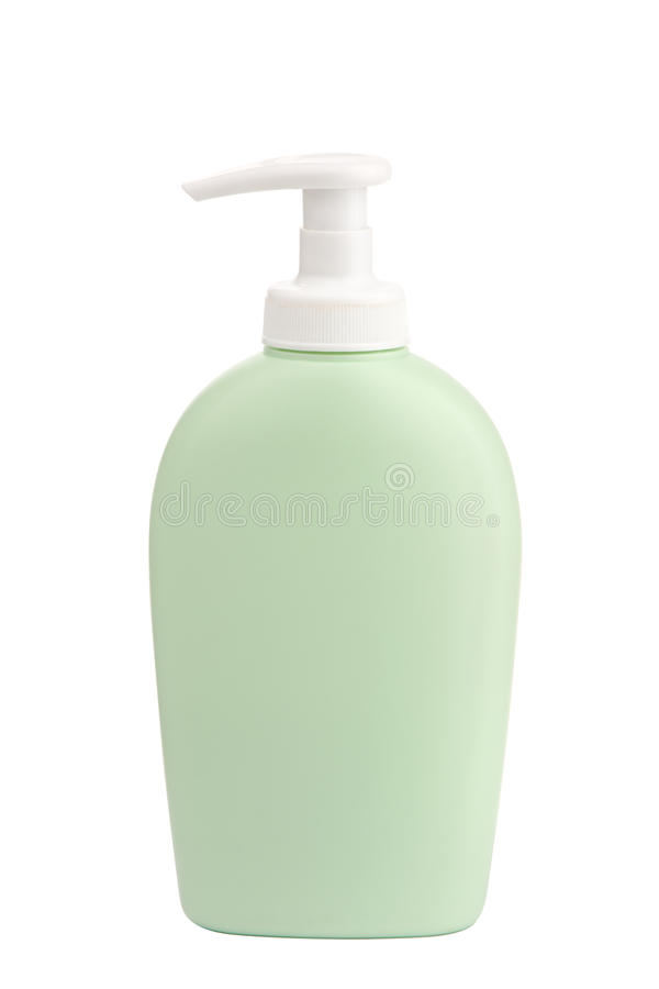 Bottle Of Liquid Soap Royalty Free Stock Photography