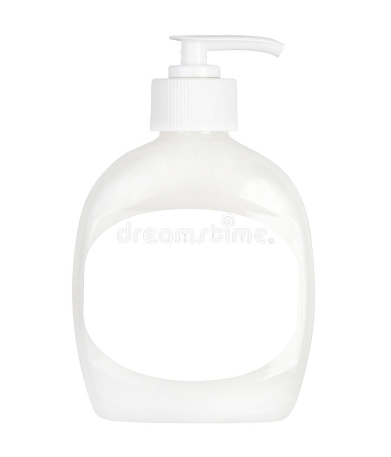 Download Bottle Of Liquid Soap Isolated Royalty Free Stock Photography - Image: 29000757