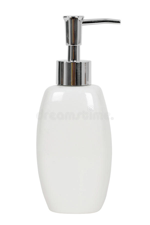 Bottle Of Liquid Soap Stock Images