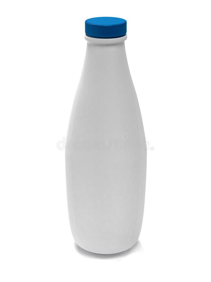 Download Bottle of milk stock illustration. Image of rendered - 11254191