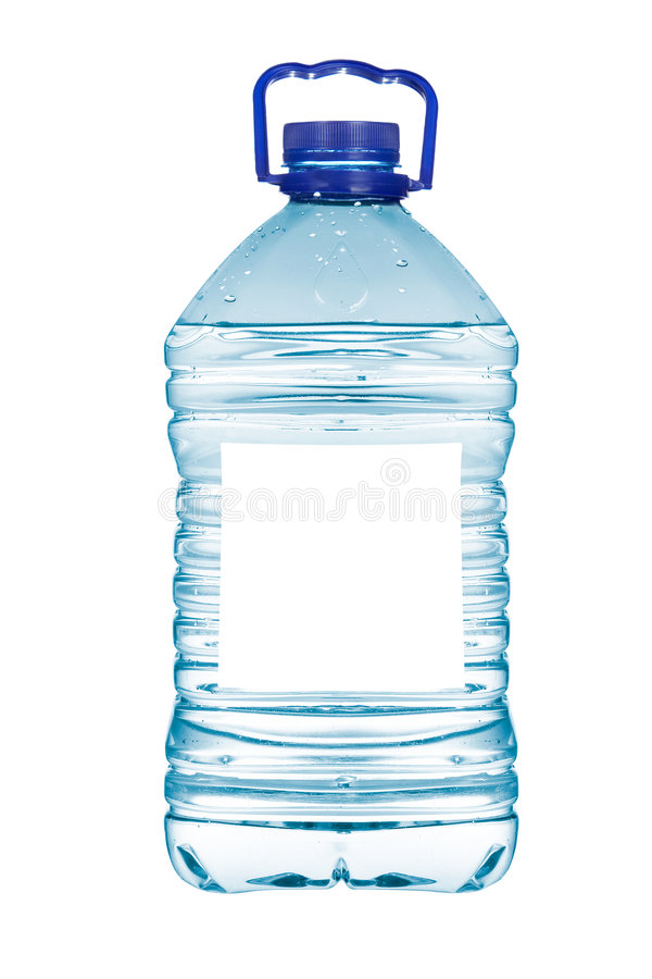 Bottle of mineral water royalty free stock image