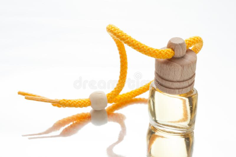 Bottle with natural oil, aromatic essential stock images