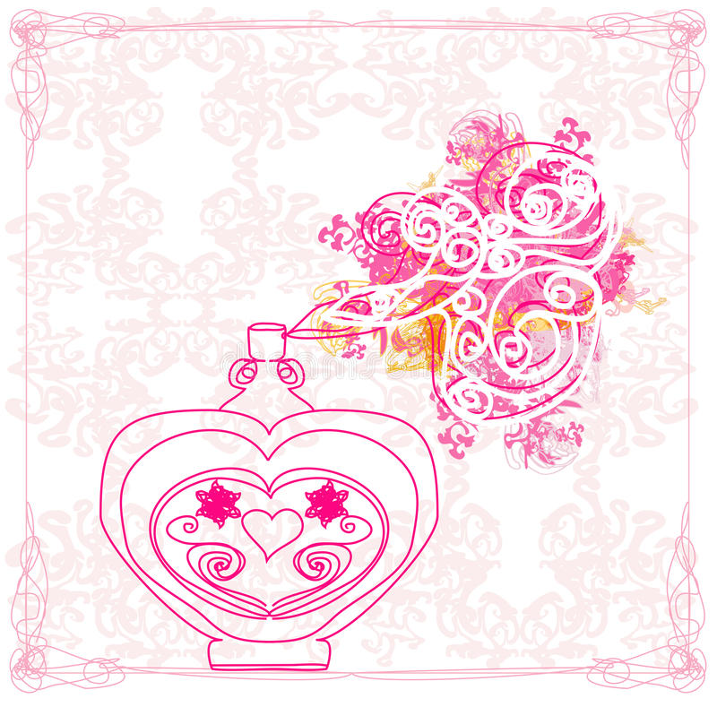 Free Bottle Of Perfume Royalty Free Stock Photos - 30766508