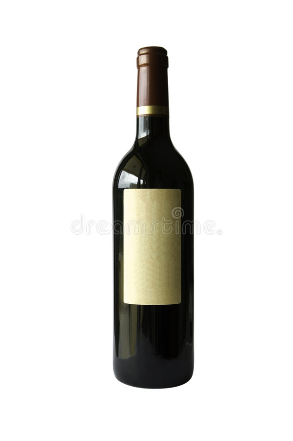 Free Bottle Of Wine Royalty Free Stock Photos - 2697018
