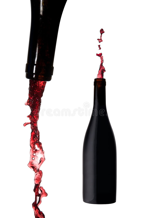 Free Bottle Of Wine Royalty Free Stock Photography - 3440297