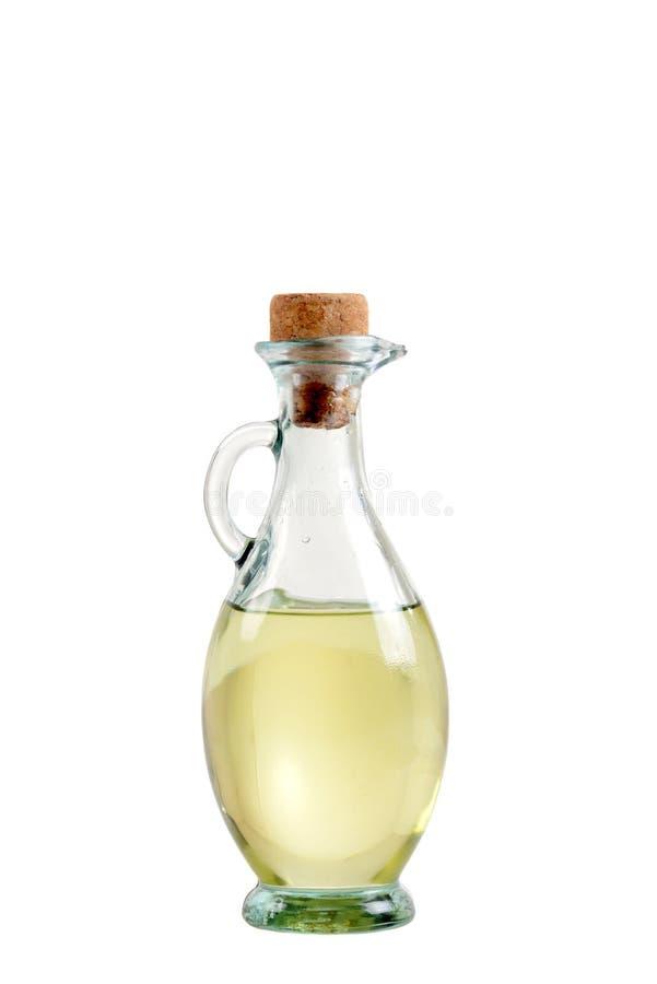 Bottle of oil stock photos