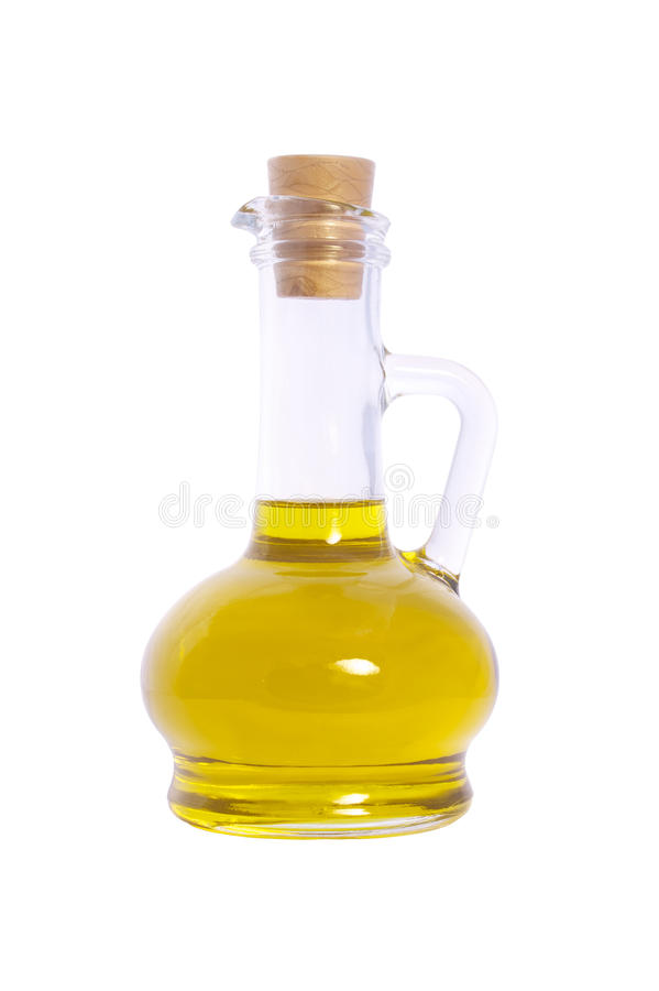 Download Bottle Of Olive Oil Isolated On White Background Stock Photos - Image: 14687233