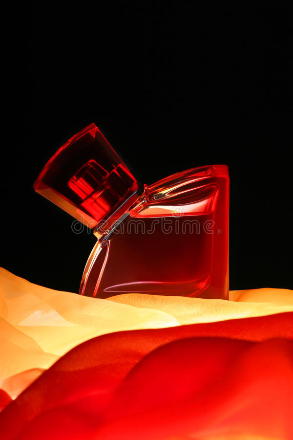 Download Bottle of parfume stock image. Image of black, love, glass - 10018387