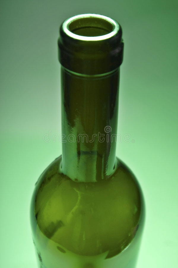 Bottle of red wine stock photos