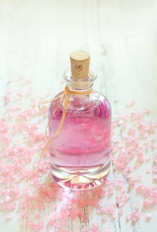 Download Bottle of rose oil stock image. Image of background, closeup - 33013455