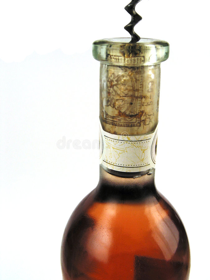 Download Bottle of rose-wine stock image. Image of tool, fresh, rose - 152109