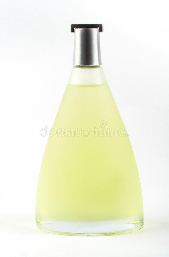 Bottle of scent stock photography