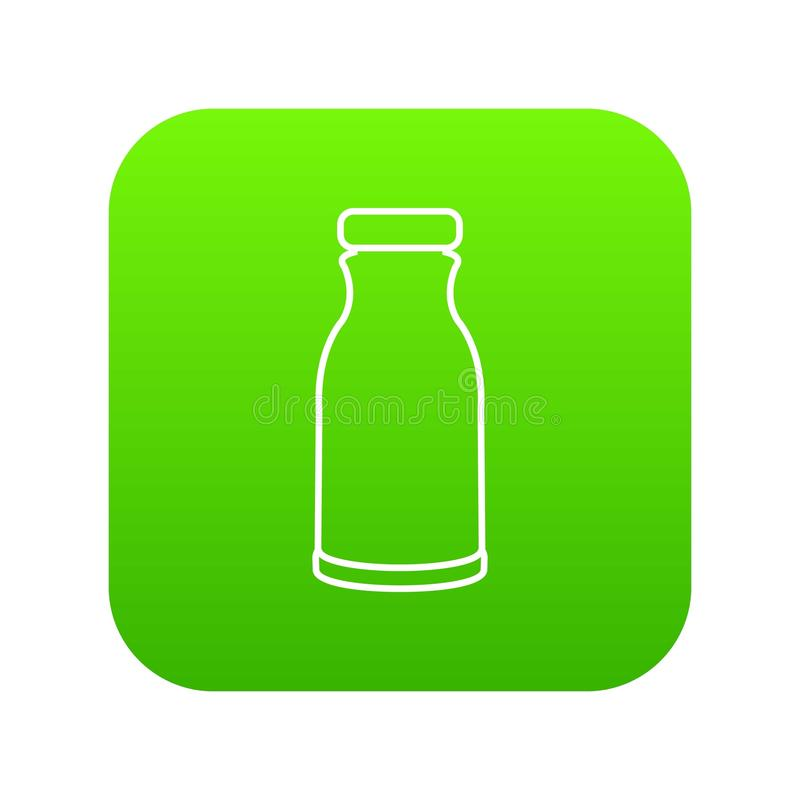 Bottle shampoo icon green vector vector illustration