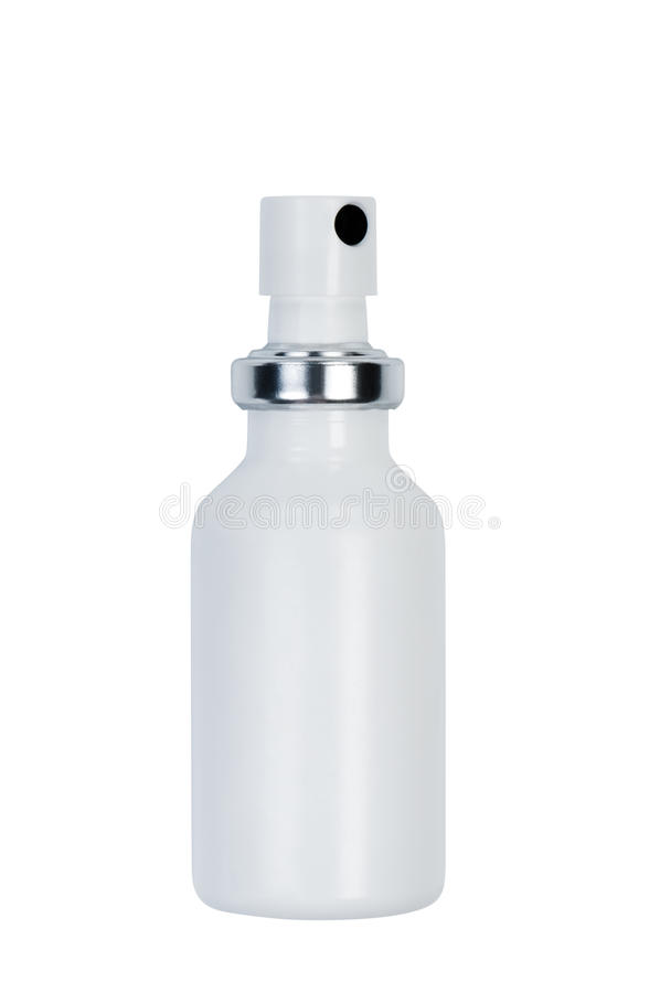 Download Bottle with spray. stock photo. Image of background, blank - 24233176