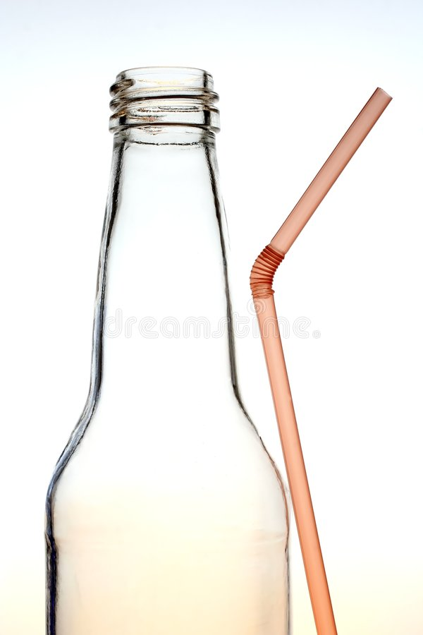 Download Bottle And Straw Stock Photos - Image: 2606983