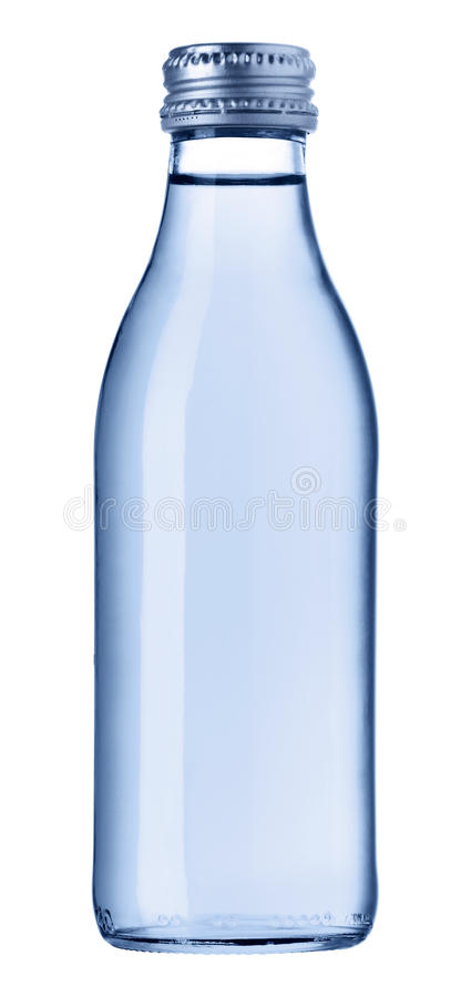 Download Bottle of water stock image. Image of tall, clipping - 18433033