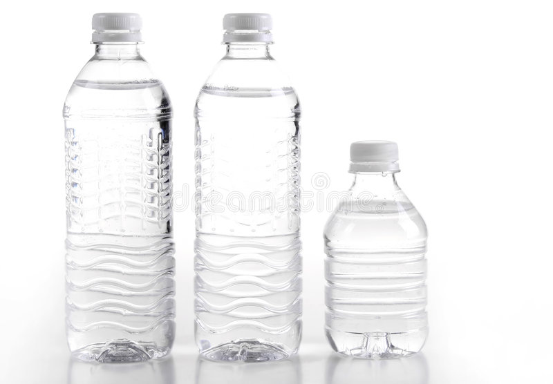 Bottle waters stock images