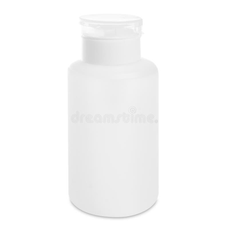 Bottle on white backgroun royalty free stock image